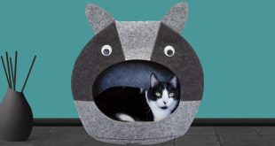 Cat Head Shaped Cat Bed