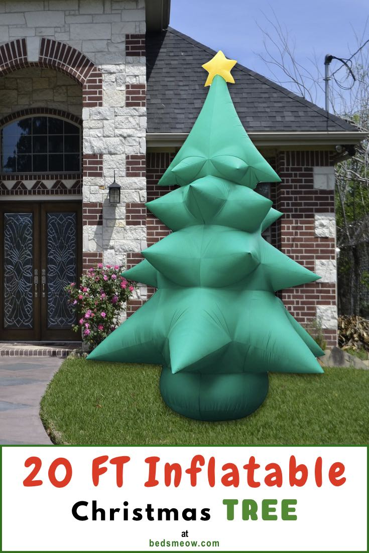 20 FT Christmas inflatable tree